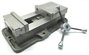 Kurt Anglock 6 Milling Machine Vise W Jaws Handle d60