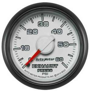 Auto Meter Exhaust Pressure Gauge 0 60psi Dodge Match
