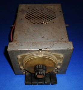 Vintage Automatic Radio 6 Volt Push Button Mid 1950 S Ford