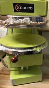 Xebeco Univex Sspz40 Cold System Pizza Dough Spreader Stretcher Spinner Two Size