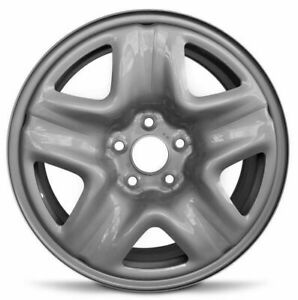 Set Of 4 Steel Wheel Rims 17 Inch Fits 13 15 Honda Accord 07 11 Honda Cr v 5 Lug
