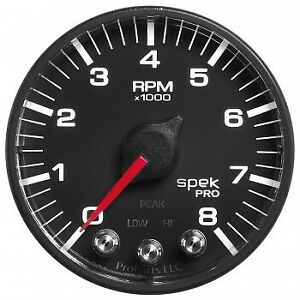 Auto Meter Spek Pro 2 1 16 Tach W Shift Light Peak Mem