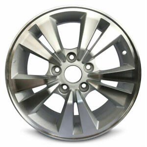 Set Of 4 Aluminum Alloy Wheel Rims 16 Inch 5 Lug Fits 11 12 Honda Accord New