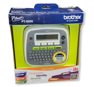 New Ob Brother P touch Pt d200 Label Printer