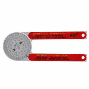 Replaces For Starrett 505p 7 Miter Saw Protractor Dial Accurate Angle Finder
