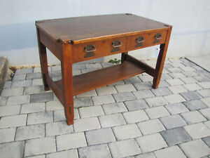 Stickley Bros Lib Table Desk W Free Shipping To Ca And To Few Other States