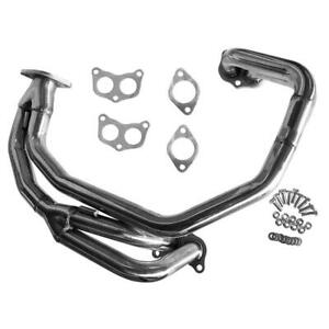 For 97 05 Subaru Impreza 2 5 Rs Ej25 Na Stainless Racing Header Manifold Exhaust