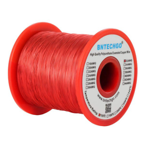 Bntechgo 32 Awg Magnet Wire Enameled Copper Wire Enameled Magnet Winding Wir
