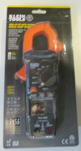 Klein Tools 400 Amp Ac dc Auto Ranging Digital Clamp Meter Cl390 New Sealed