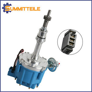1x Ignition Hei Distributor 65k Coil For Sbf Ford Small Block 221 260 302 V8 S