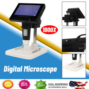 4 3 1000x Lcd Electronic Digital Video Microscope Led Magnifier Tool