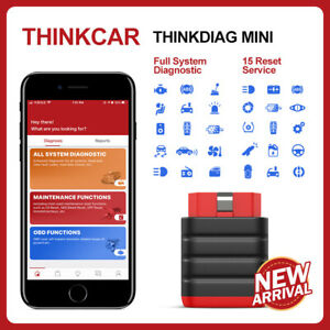 2020 Thinkdiag Mini Obd2 Code Reader Diagnostic Scanner Tpms Abs Immo Srs Tool