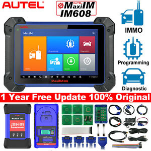 Autel Maxiim Im608 Obd2 All System Diagnostic Scan Tool Immo Key Programming