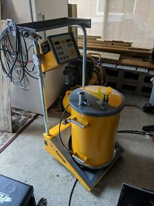 Gema Itw Easy 1f Manual Powder Coating System Complete With Gun And Hopper
