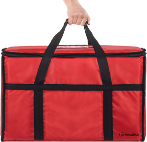 Xl Nylon Thermal Insulated Food Delivery And Reusable Grocery Bag For Catering R