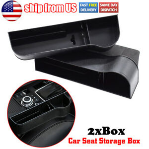 Car Gap Organizer Seat Storage Box Cup Holder For Stowing Tidying Auto Parts