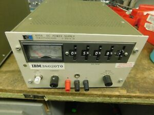 Hp 6111a Stb Series Single Meter Bench relay Rack Transistorized Dc Power Supply