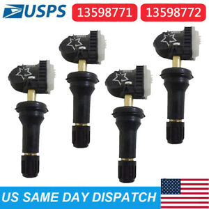 13598771 Gm Original Equipment Tire Pressure Sensor Tpms 4pcs Fit For Chevy Gmc