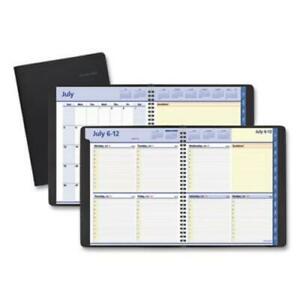 At a glance 76 11 05 07 Quicknotes Weekly monthly Planner 10 X 8 Black