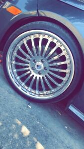 Used 20 Inch Asanti Chrome Rims And Tires