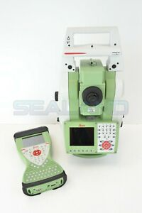 Leica Ts15 5 I R1000 Robotic Total Station With Cs15 Field Controller