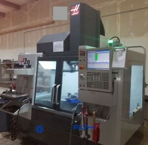 Haas Vf 2ss Vmc 12 000 Rpm 24 Atc Wired For 4th tsc probes undrpwr For Inspect