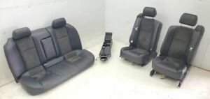 2004 2007 Cadillac Cts V Complete Seat Set And Console Leather Oem Nice
