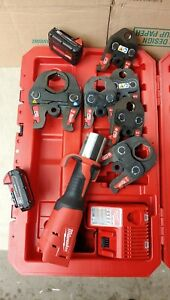 Milwaukee M18 2773 22 Force Logic Pro Press Tool Kit With Six Jaws 1 2 2