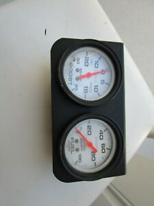 New 2 Gage Panel Boost Fuel Hg 2 And 5 8 Auto Meter