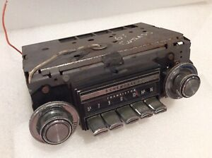 1968 1969 Oldsmobile Cutlass 442 Hurst Olds Am Radio Tested Working Original Oem