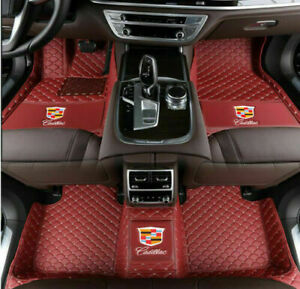 Fit Cadillac Ats Cts Ct6 Srx Xt5 Xt4 Xts 2004 2019 Waterproof Car Floor Mats Pad