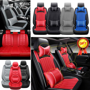 Car Seat Covers Universal Cushion Protector 5 Sits Front Rear Interior 4 Seasons