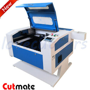 Reci 100w Co2 Laser Engraver Cutting Machine 500x700mm Chiller Motorized Up Down