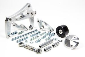 March Performance Alt a c Bracket Sbc Lwp Mid Mount Polished