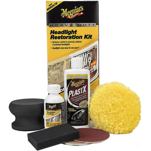 Meguiar s Heavy Duty Headlight Restoration Kit G2980 Kit