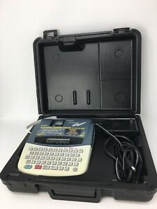 Brother P touch Extra Pt 310 Label Maker With Carrying Case With Ac Adapter