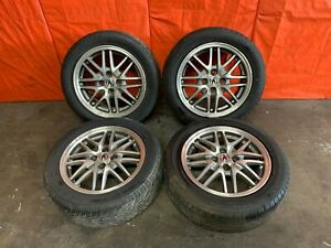 Acura Integra Factory Wheel Set Ls Webs Wheels Rims Tires Gsr Gs Dc2 Db8