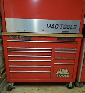 Mac Tools Tool Box Tech1000 11 Drawer Cab And Work Station Top Hutch