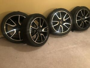 21 Glc Amg Mercedes Factory Oem Wheels Rims Tires Glc43 43 Glc63 Genuine