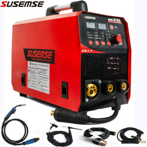 Mig235 3in1 Welder Gas Less Flux Core Wire Automatic Feed Welding Machine 15ak