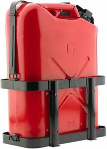 10l 20l Jerry Can Holder Gas Mounted Rack Fuel Gasoline Military Metal Us