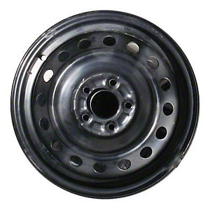 Wheel For 2010 2013 Mitsubishi Lancer 16x6 5 Black Refinished 16 Inch Rim