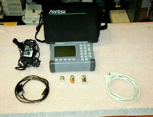 Anritsu S400a Sitemaster With New Battery