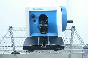 Reichert jung 820 ii Histocut Bench Model Rotary Microtome