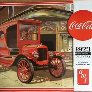 Sealed New AMT Coca-Cola 1923 Ford Model T Delivery Model Kit 1/25 Scale