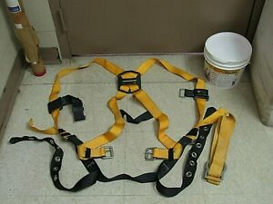 New Titan Ready Worker Fall Protection Safety Harness Lanyard Kit Tfpk 5 Tfpk 1