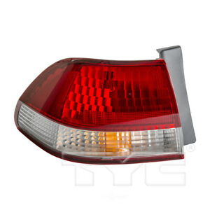 Tail Light Assembly Tyc 11 5466 00 Fits 01 02 Honda Accord