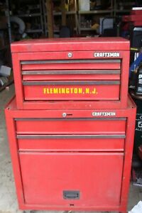 2 Tier Craftsman Tool Box With Many Sockets