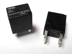 Song Chuan 301 1a c r1 u03 12vdc Micro 280 Spst 35a Relay 4 Pin Pack Of 2