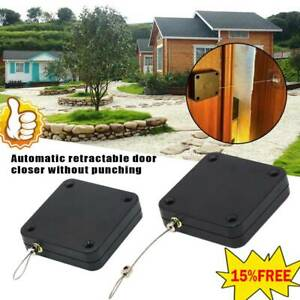Quality Punch free Automatic Sensor Door Closer Portable Home Office Doors Off